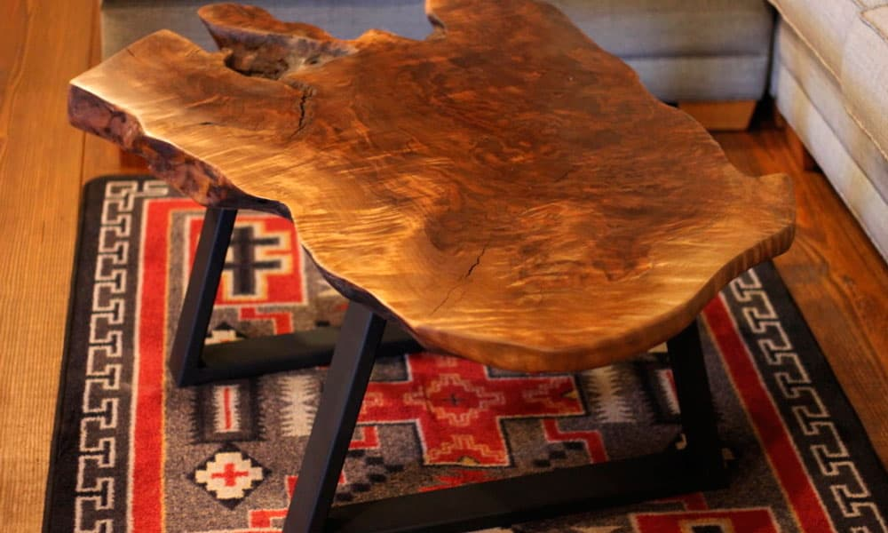 wood coffee tables cowgirl magazine