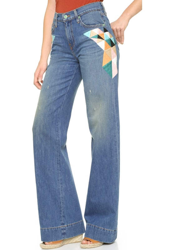 Cowgirl - Embroidered Jeans