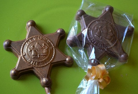 sheriff party favors