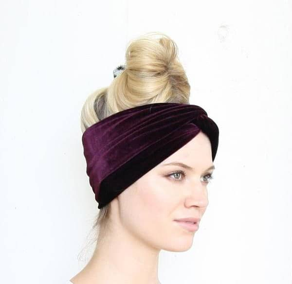 Velvet Turban headbands