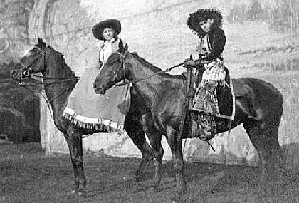 Della Farrell and Georgia Duffy