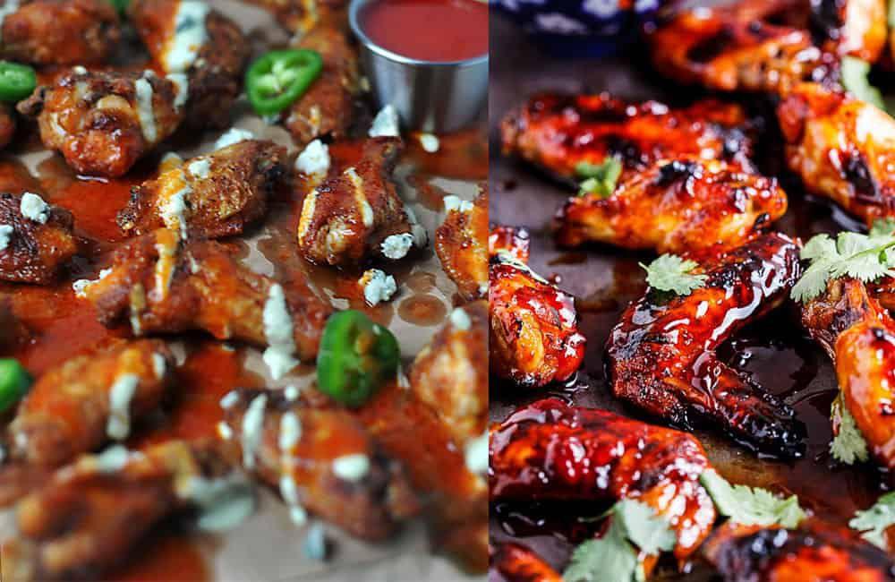 Finger lickin good wing recipes