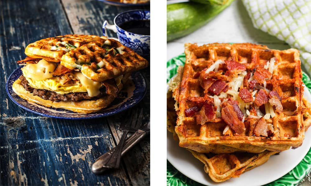 Savory waffle recipes to try