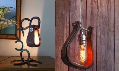 Stunning stirrup lighting