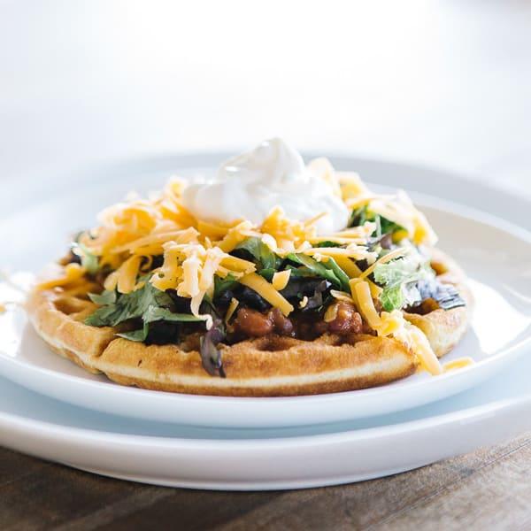 chili-cornbread-waffles