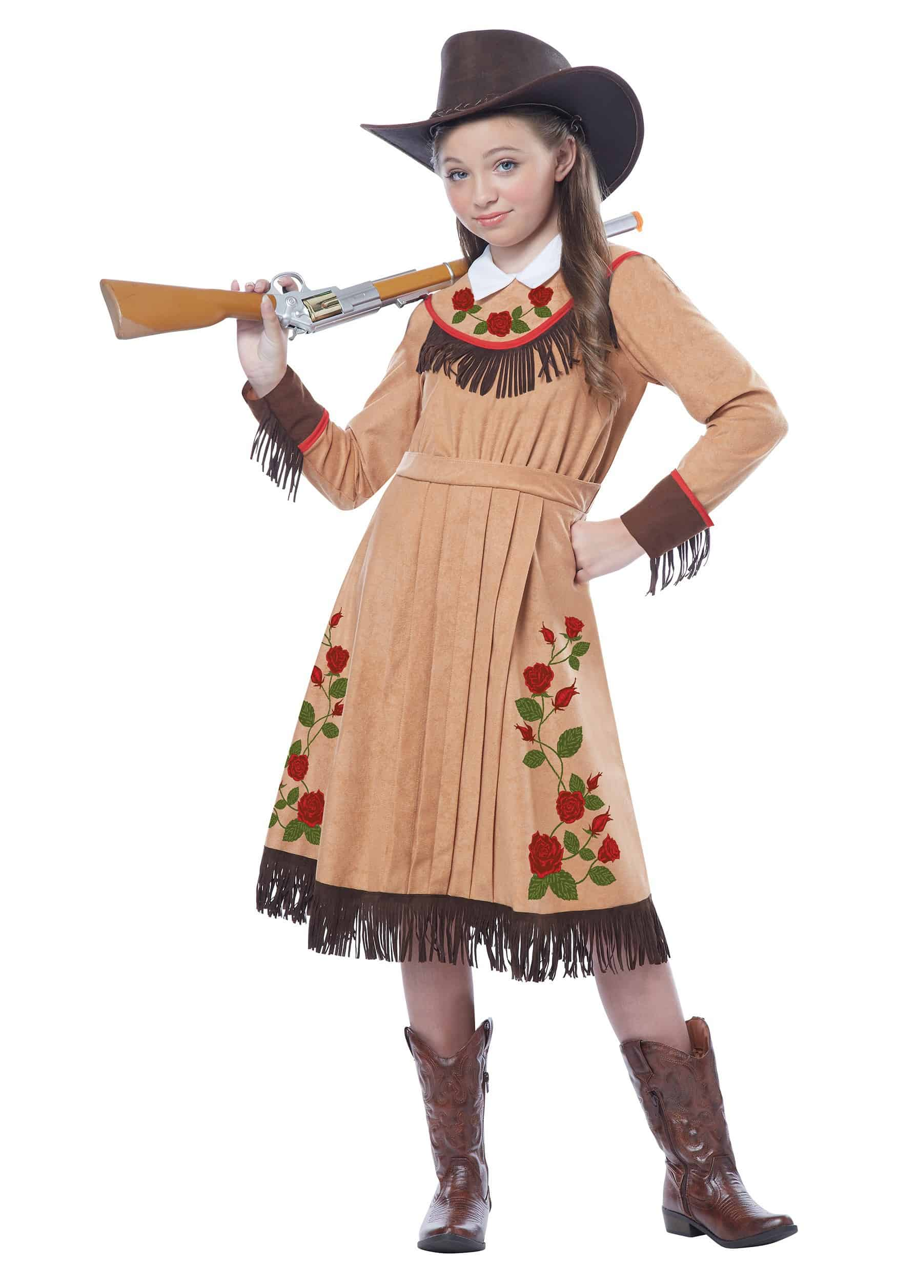 girls-annie-oakley-costume