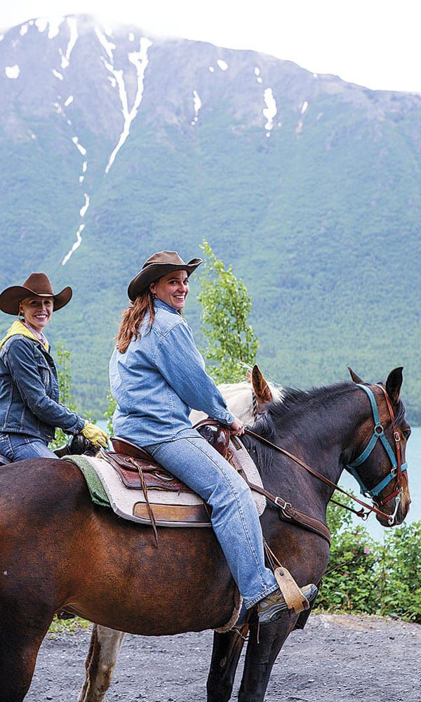 Alaska Horses Horseback Riding Darley Newman Cowgirl Magazine