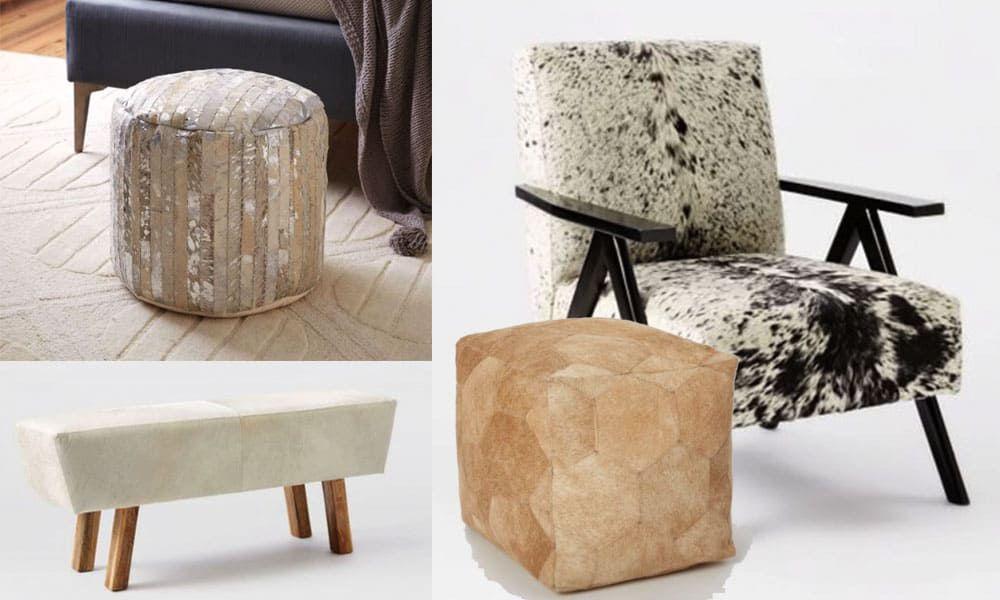 modern cowhide furniture