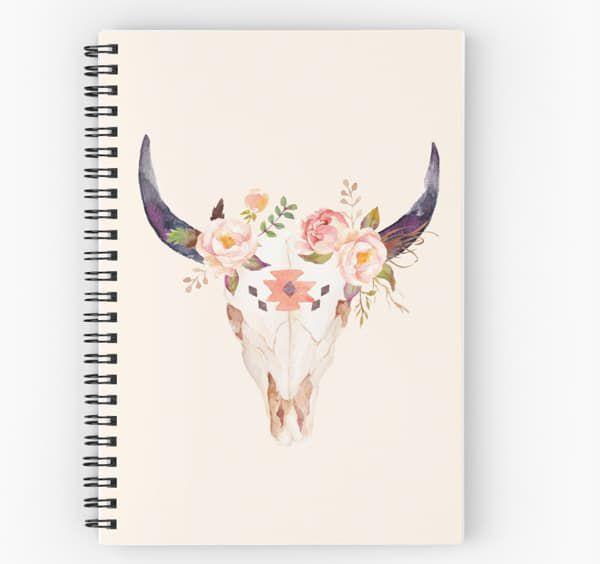 steer-skull-notebook