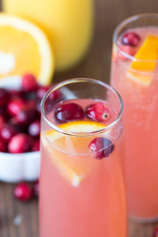 Cranberry-Orange-Mimosa