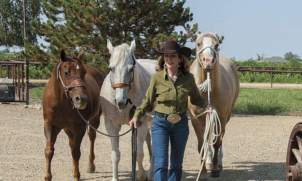 Sharon camarillo cowgirl magazine photo by ken amorosano