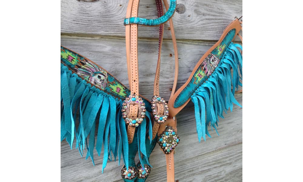 Cowgirl - Painted Tack Sets