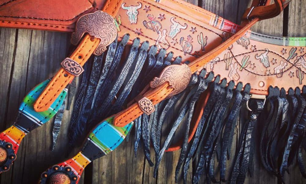 Cowgirl - Painted Tack Set