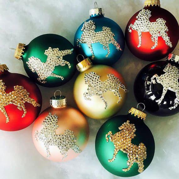 swarovski-horse-ornaments