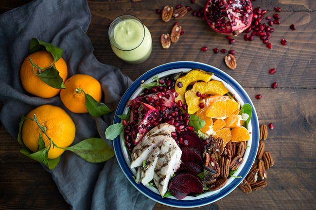 Winter-Harvest-Salad-with-Avocado-Citrus-Dressing
