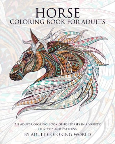 horse-coloring-book