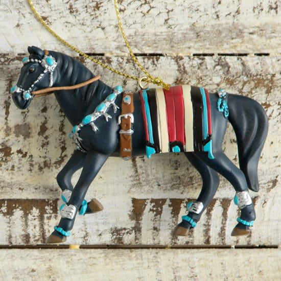 turquoise-horse-ornament