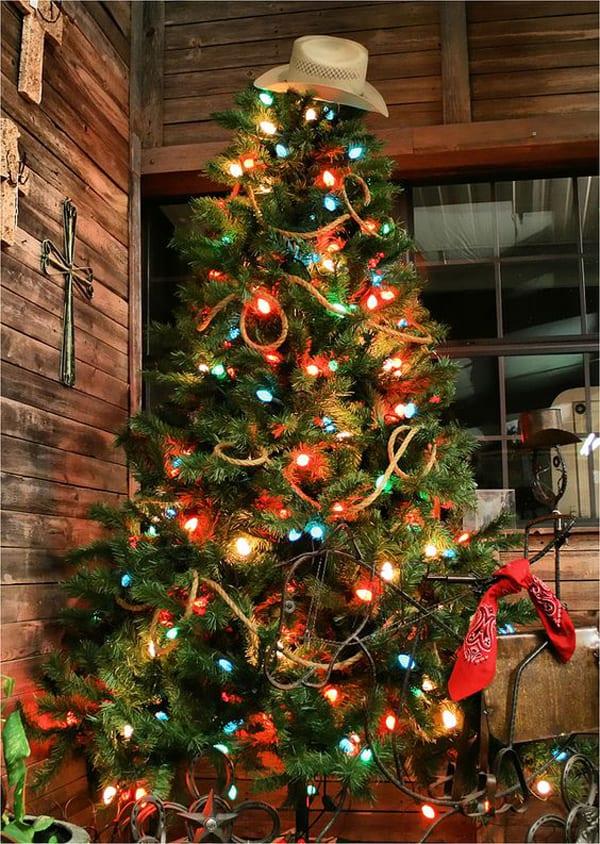 western-christmas-tree