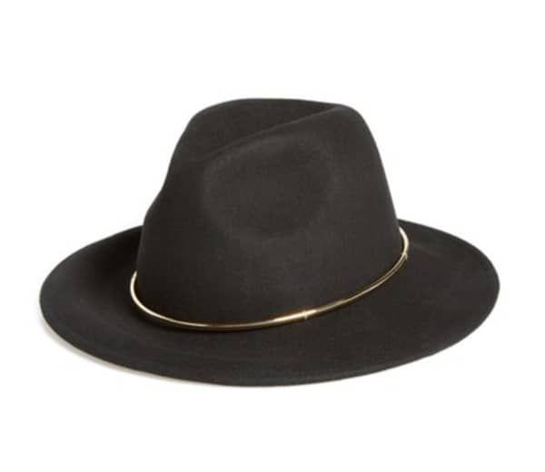 Black-felt-hat