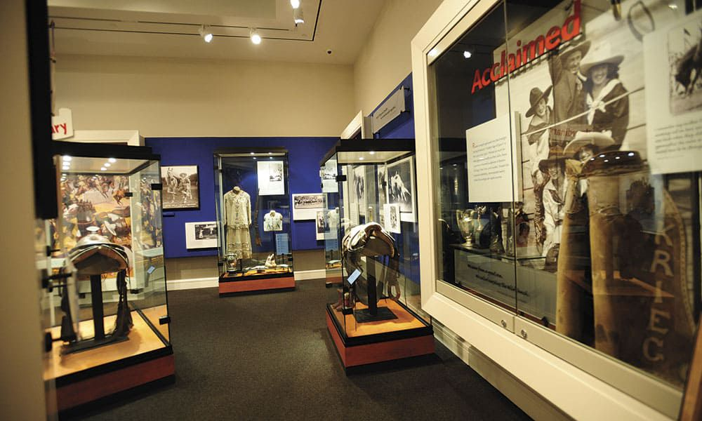 Photos courtesy of National Cowgirl Museum and Hall of Fame, Fort Worth, Texas