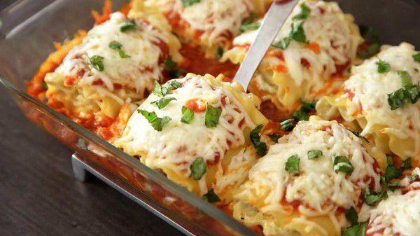 Zucchini-Lasagna-Rollups