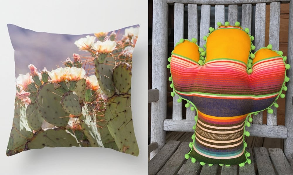 cool cacti pillows