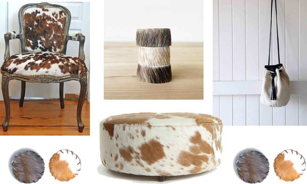 59245f00c6dd Current Cowhide Crushes for the Home   Closet - Cowgirl Magazine