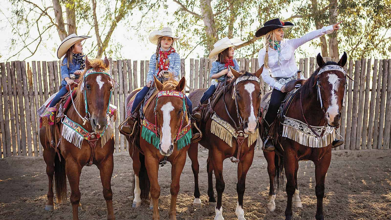cowgirl magazine tack trends fringed breast collars