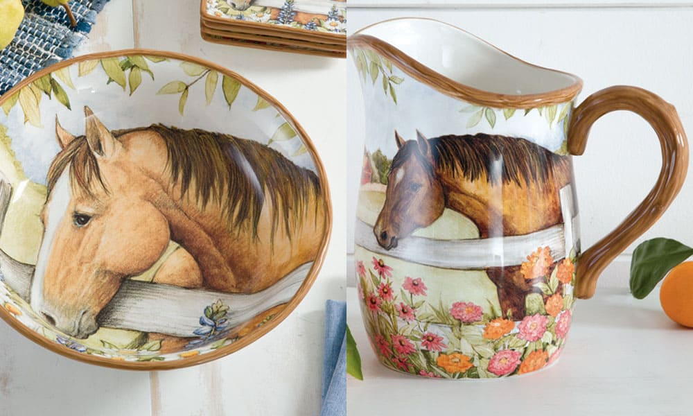 Blooms and horses collection
