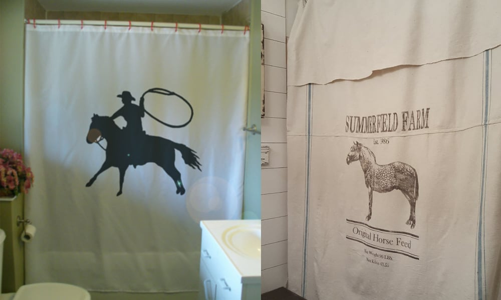 Horse Shower Curtains For Your Bathroom