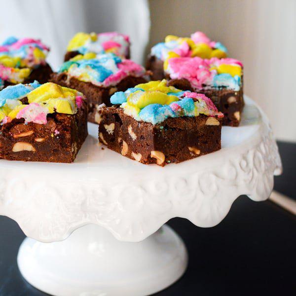 Peep-Rocky-Brownies