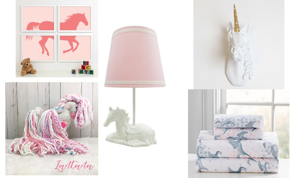 Pink girly nursery