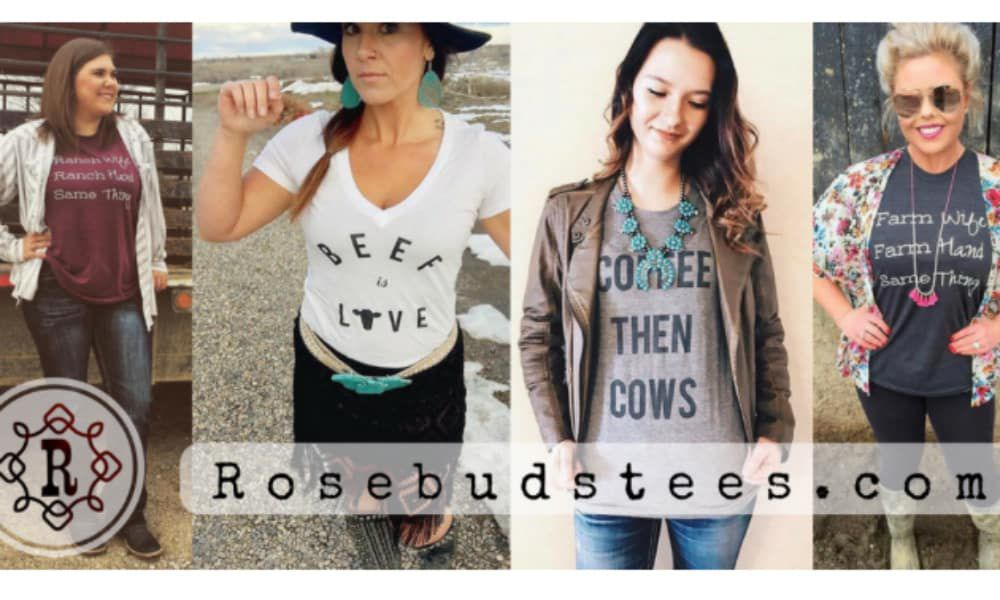 rosebud's graphic tee cowgirl magazine