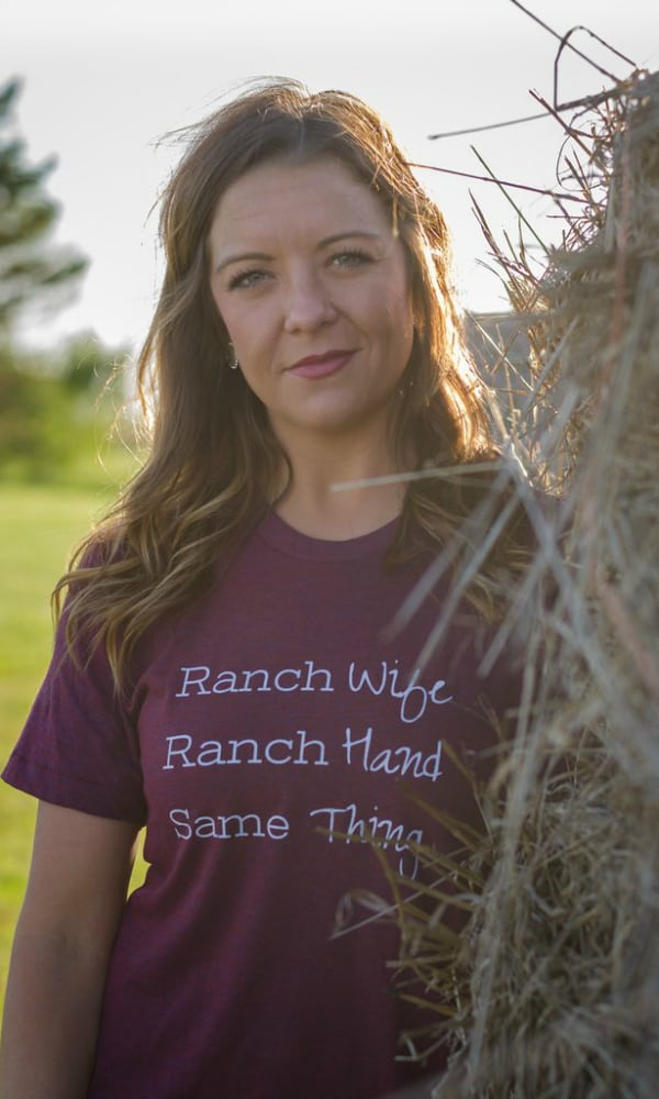 rosebud's graphic tee ranch wife cowgirl magazine