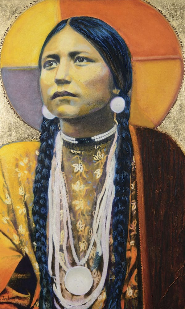 Jane Lauren Lakota Cowgirl Magazine