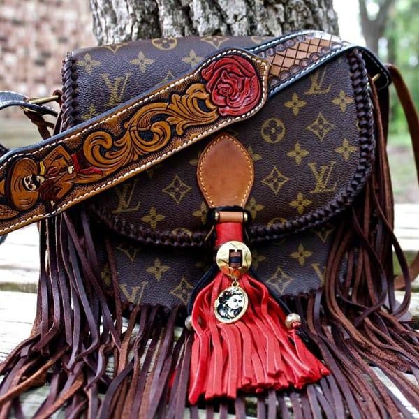 leatherandvodka crossbody cowgirl magazine