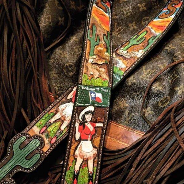 custom tooling leatherandvodka cowgirl magazine