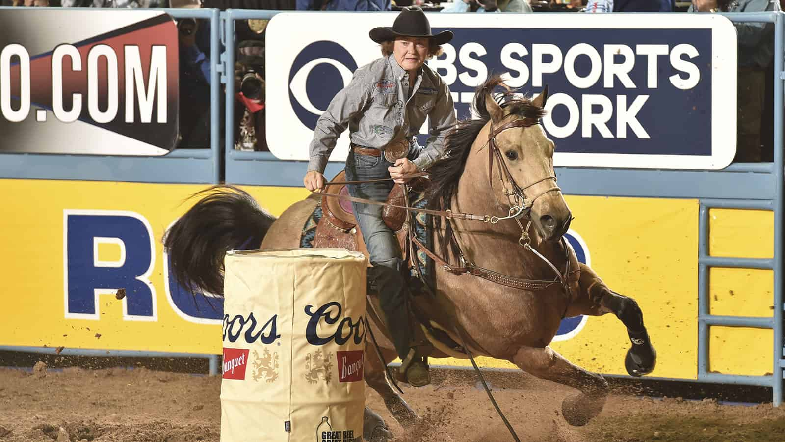 mary burger and mo cowgirl magazine barrel racer