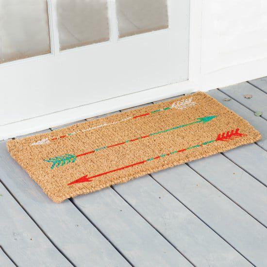 arrow door mat