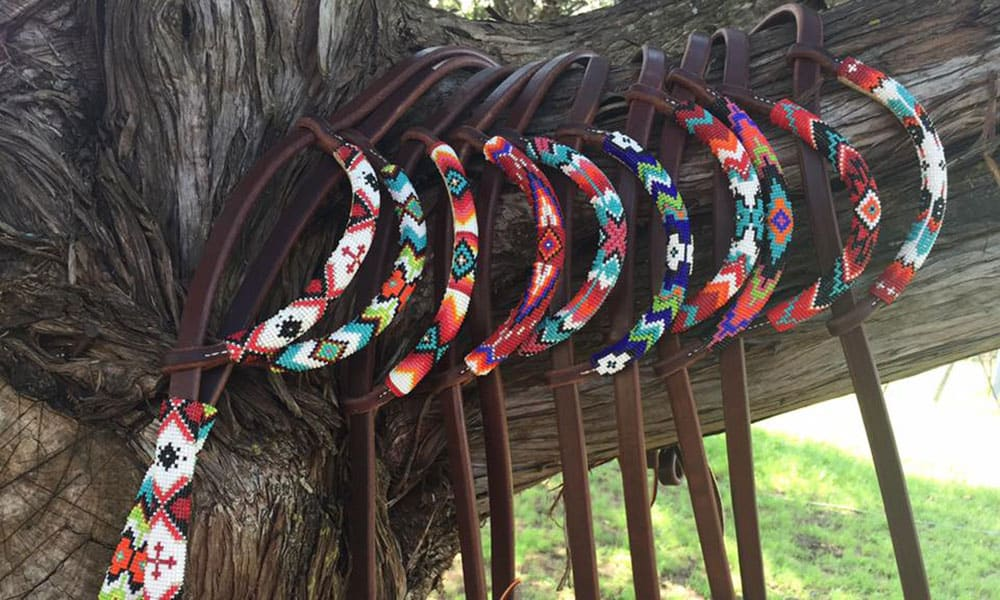 Whispers Beaded Tack Cowgirl Magazine