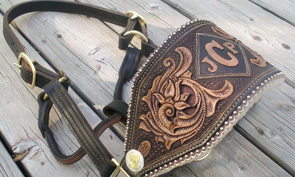 Denice Langley Custom Leather Cowgirl Magazine