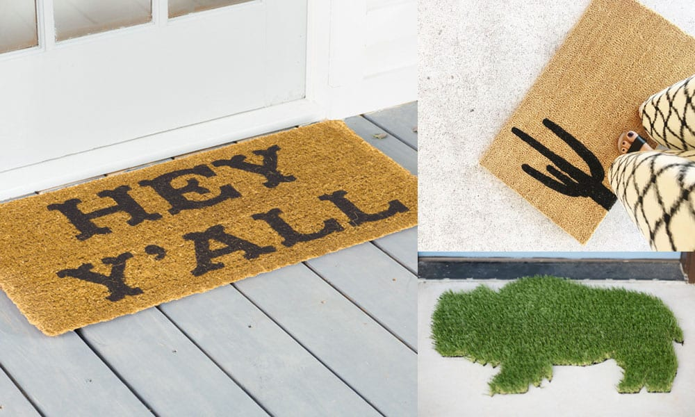 5 Country Cool Doormats Cowgirl Magazine