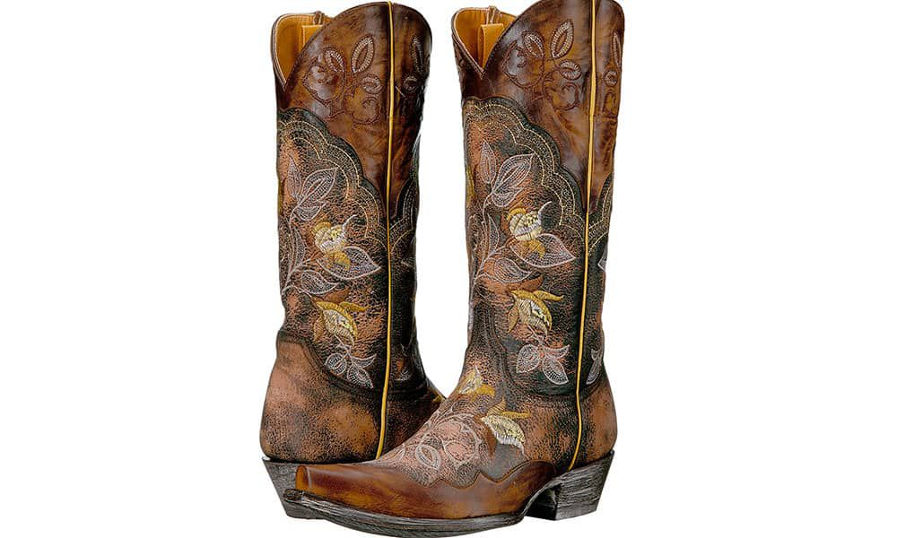 Floral Boots Old Gringo Cowgirl Magazine