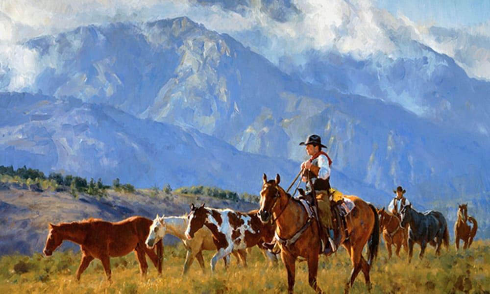 Cowboy Art Jason Rich Cowgirl Magazine