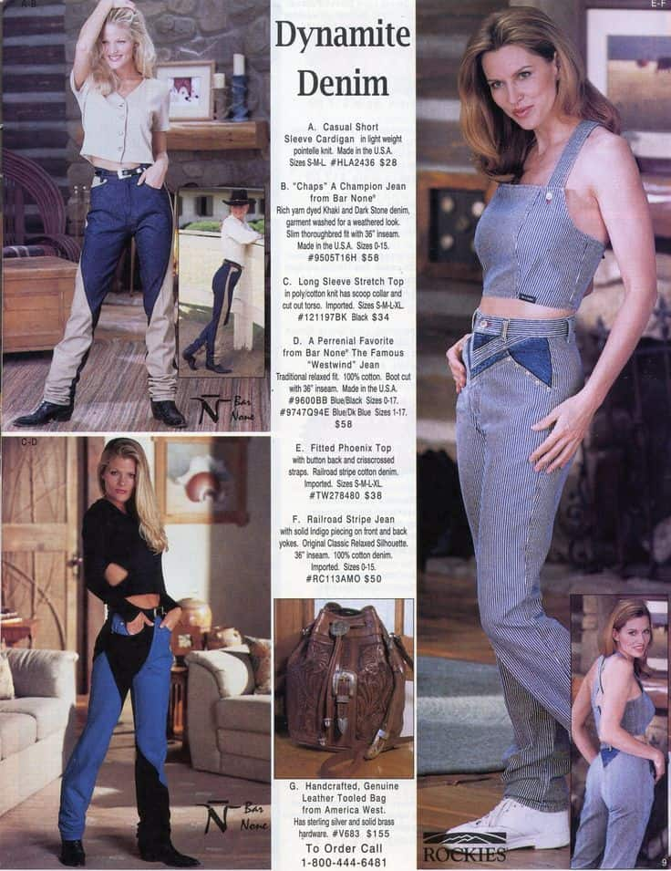 rockies highwaisted jeans cowgirl magazine