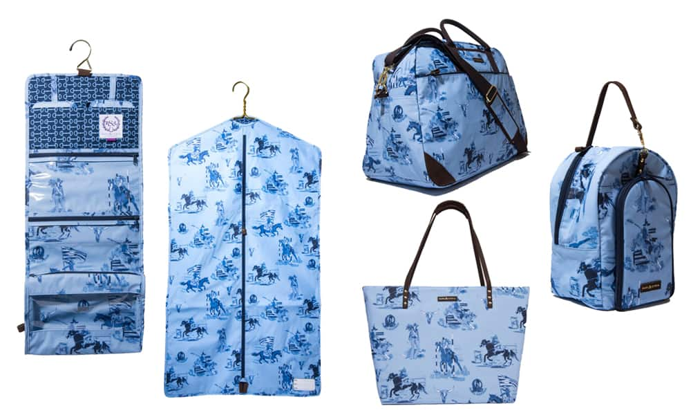 rodeo print travel bags