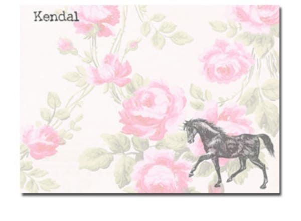 rose-and-horse-stationary