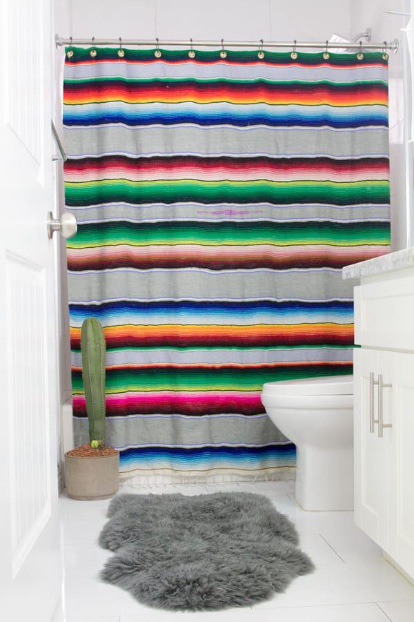 serape-shower-curtain