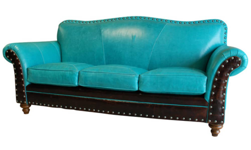 stunning turquoise furniture
