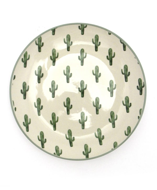 Bloomingville Cactus Dinnerware set cowgirl magazine